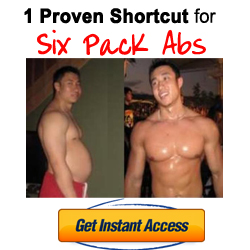 six pack shortcuts Hot Fitness Blonde Mirror