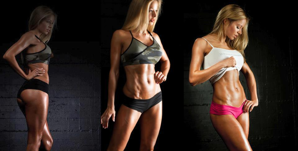 Fitness Girls Toned Abs Fitness Girls Toned Abs