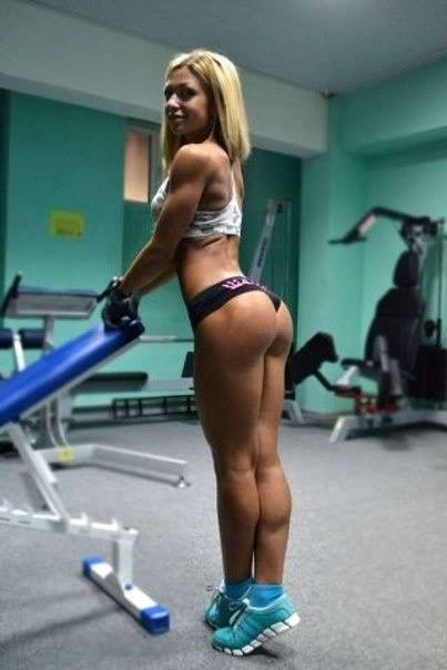 Hot Fitness Blond Chick Hot Fitness Blonde Chick